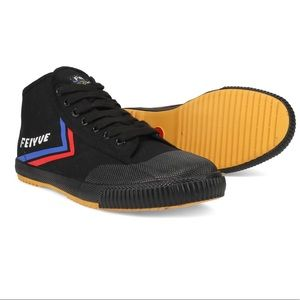 FEIYUE mid height black shoes